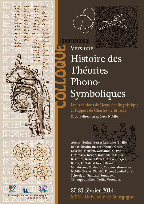 Towards a history of sound symbolic theories